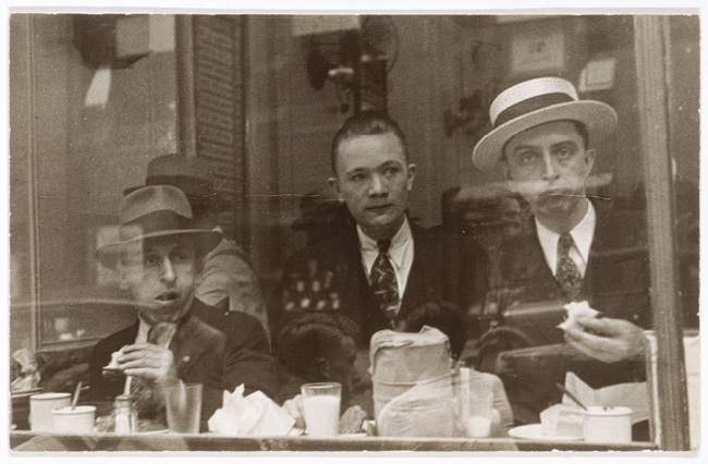 Lunchroom Window, New York], 1929