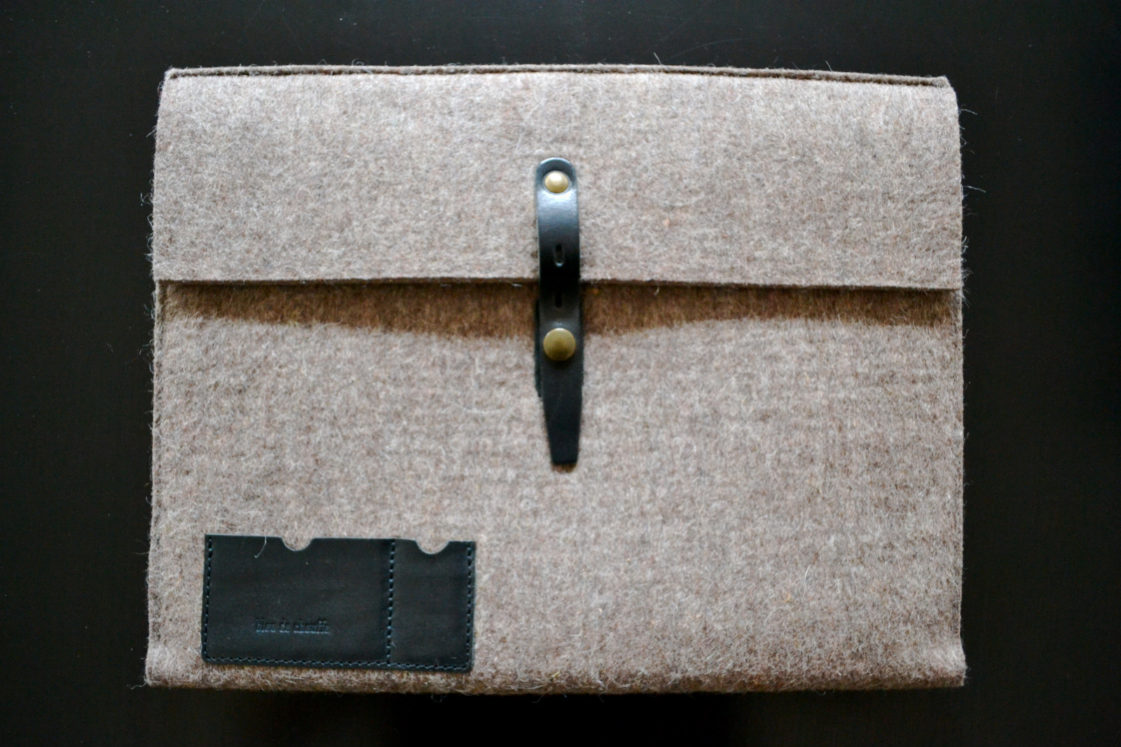 Bleu de Chauffe Laptop Case on Droleries & Curiosities