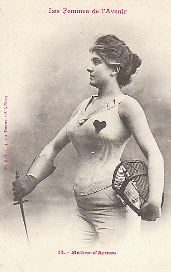 Women of the futur - Fencing teacher