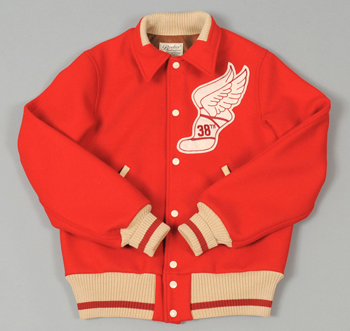"WAREHOUSE : ""38th"" Varsity Jacket, hickoree's"