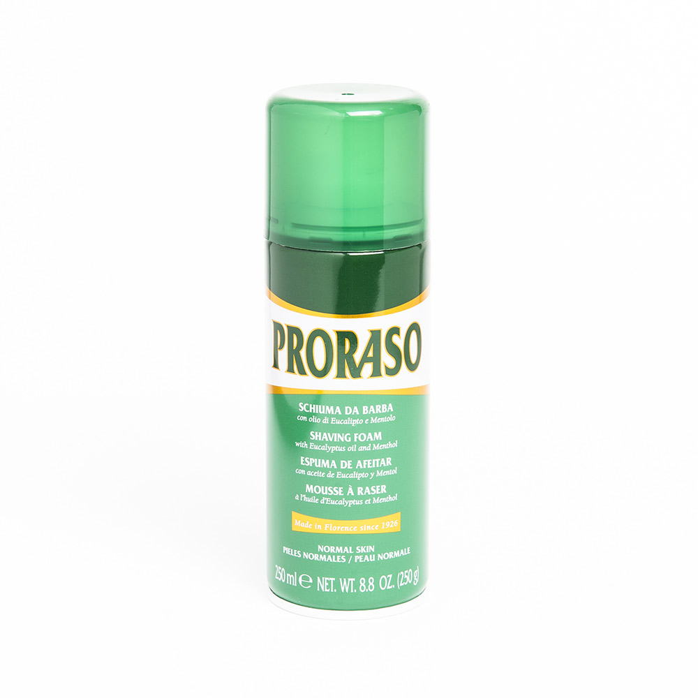 Proraso Shaving Foam with Eucalyptus and Menthol (250ml)